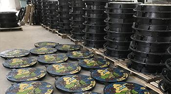 仿铜井盖厂家讲解球墨铸铁井盖铸铁的过热和高温静置的影响
