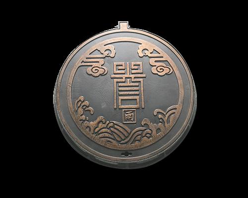 铸铁仿铜艺术井盖