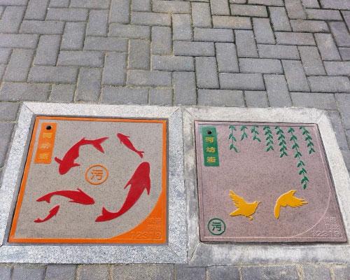 杭州城市艺术井盖